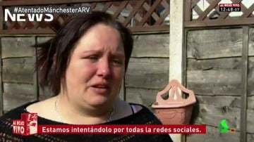 Madre de Manchester que busca a su hija