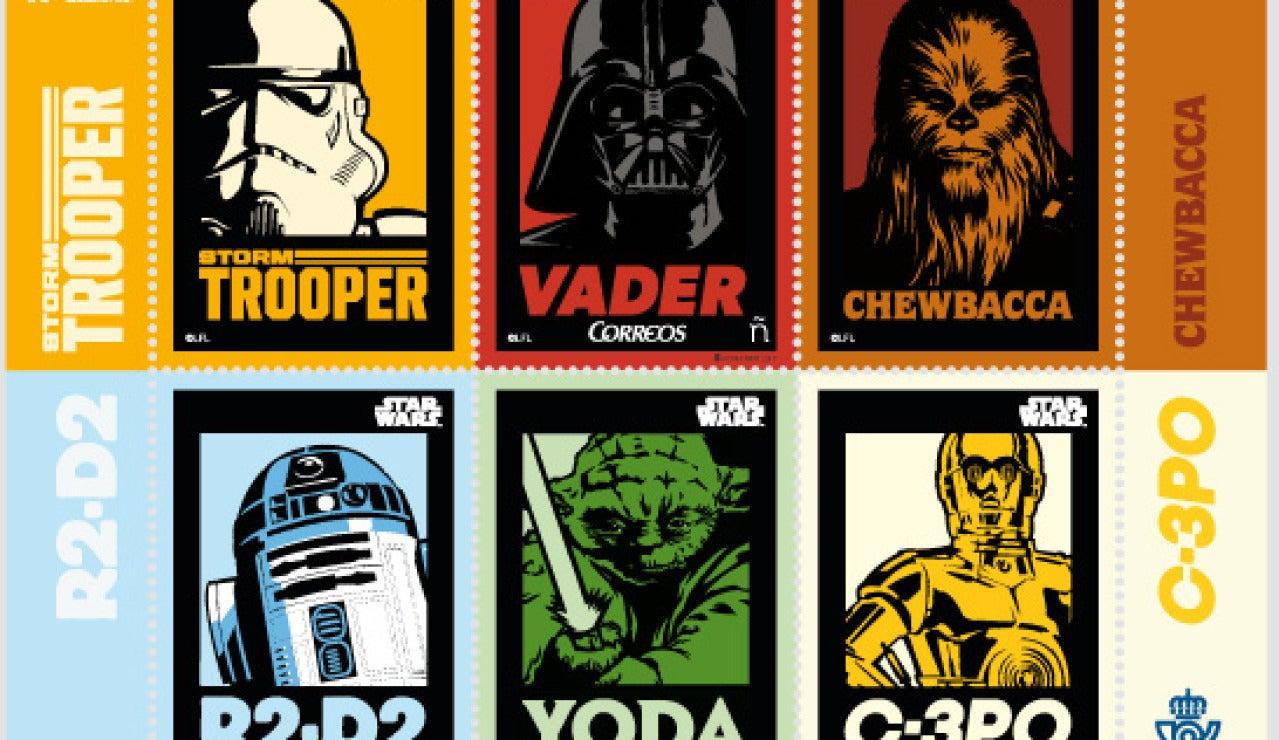 Sellos de 'Star Wars'