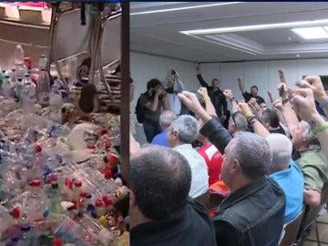 Estibadores y huelga en Ibiza