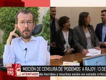 Pablo Echenique, en ARV