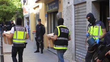La Policía en una operación antiyihadista