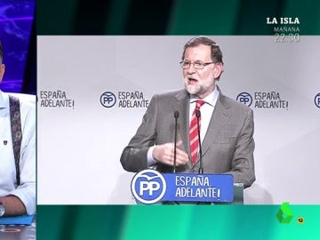 Mariano Rajoy y Wyoming