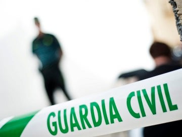 Un precinto de la Guardia Civil