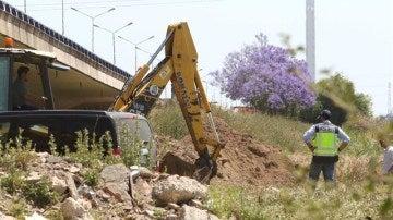 La Policía comienza la segunda jornada de la nueva búsqueda de Marta del Castillo en Camas