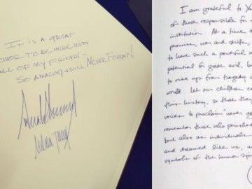 Los mensajes de Trump y Obama en el monumento del Holocausto en Israel