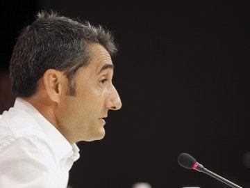 Ernesto Valverde, nuevo técnico del Barcelona