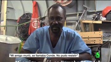 """Frame 50.102016 de: La crueldad de Libia con los migrantes que huyen de la muerte: """"Si eres negro, intentarán venderte"""""""