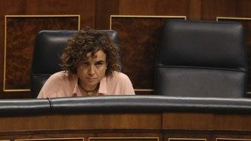 La ministra de Sanidad, Dolors Montserrat, en el Congreso
