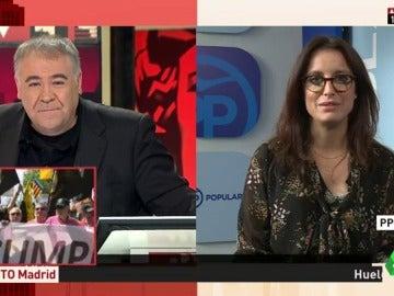 """Frame 11.769132 de: Andrea Levy: """"Hay hartazgo generalizado entre los catalanes que apostamos por un modelo de convivencia"""""""