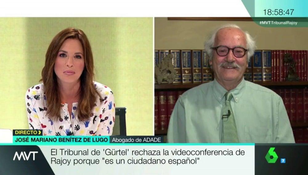 """Frame 16.141051 de: Benítez de Lugo, sobre la declaración de Rajoy: """"El 'no me consta', 'no lo conozco' o 'no lo recuerdo' son las frases preferidas del PP"""""""
