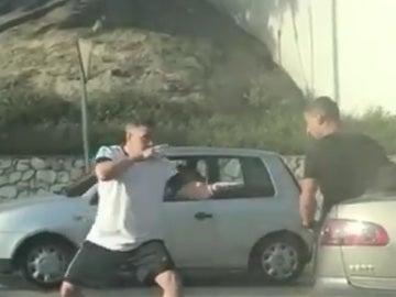 Pelea entre dos conductores en Mijas