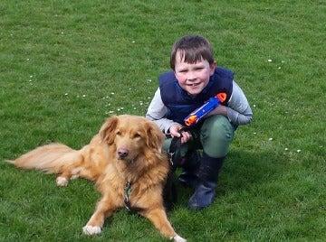 Vivir con perros disminuye el estrés de los niños