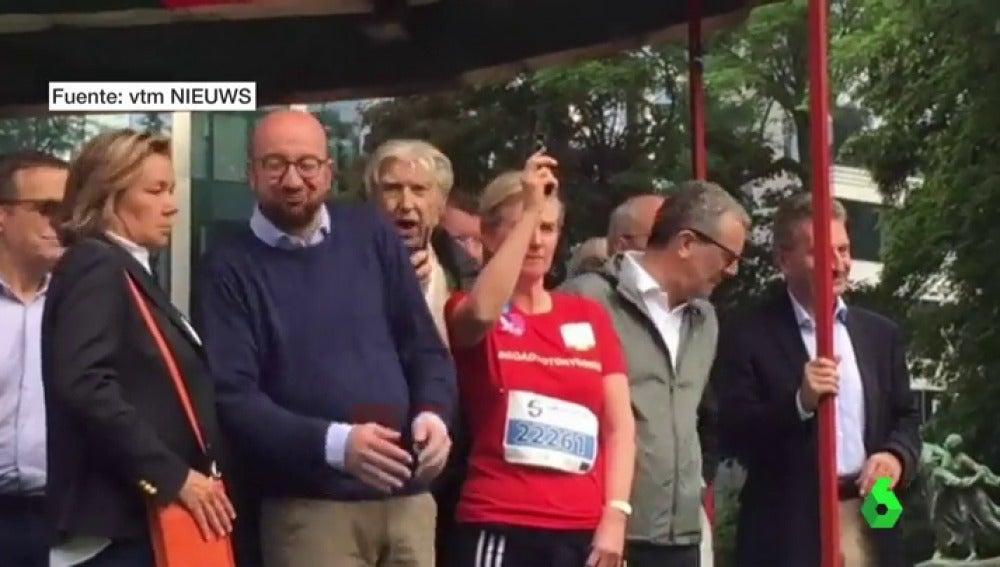 La princesa belga ensordece al primer ministro