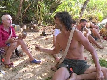 Enfrentamiento entre Fernando y Rafael