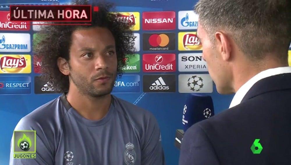 """Frame 3.100095 de: Marcelo: """"¿Piqué? No voy a hablar de ese personaje"""""""