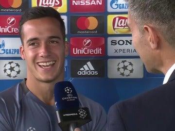 """Frame 130.127877 de: Lucas Vázquez, sobre el debate Isco - Bale: """"Si fuese Zidane... No sé lo que haría"""""""