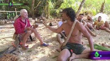 Rafael y Fernando en La Isla