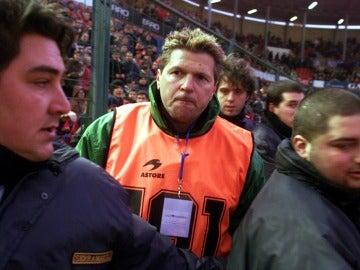 Dimitri Piterman, durante un partido