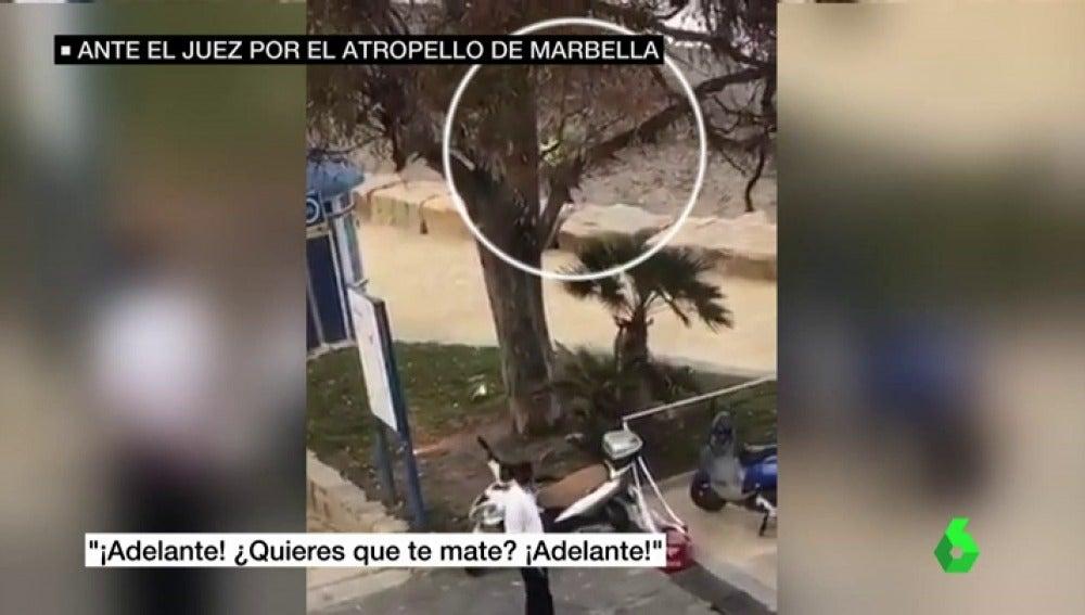 Frame 6.873372 de: Nuevas imágenes desvelan cómo la Guardia Civil detuvo a uno de los acusados por el atropello múltiple en Marbella