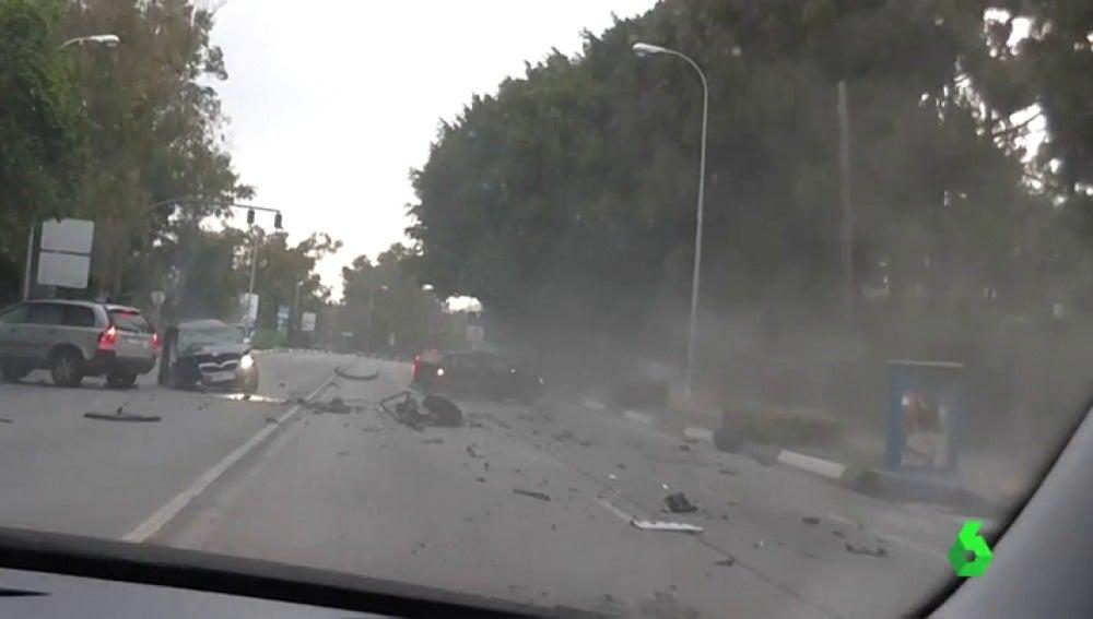 Brutal atropello en Málaga