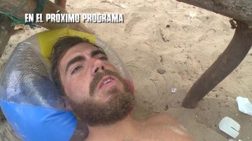 Juan sufre en un accidente en La Isla