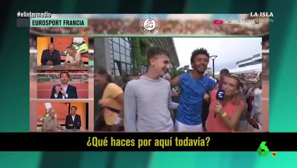 Maly Thomas, la periodista acosada por Hamou en Roland Garros
