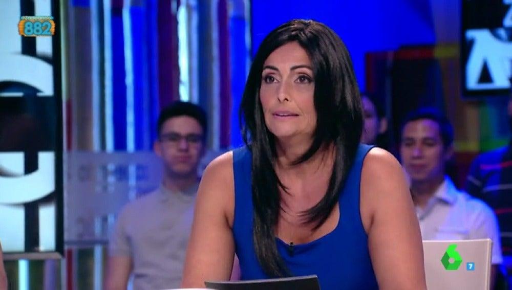 Mónica Pérez en la piel de Ana Pastor