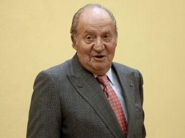 El Rey Juan Carlos, durante un acto oficial