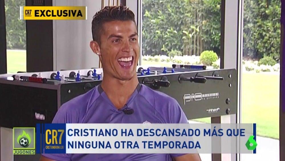 """Frame 45.270609 de:  Cristiano Ronaldo: """"No soy un 'super hombre', había que hacer esta gestión de minutos"""""""