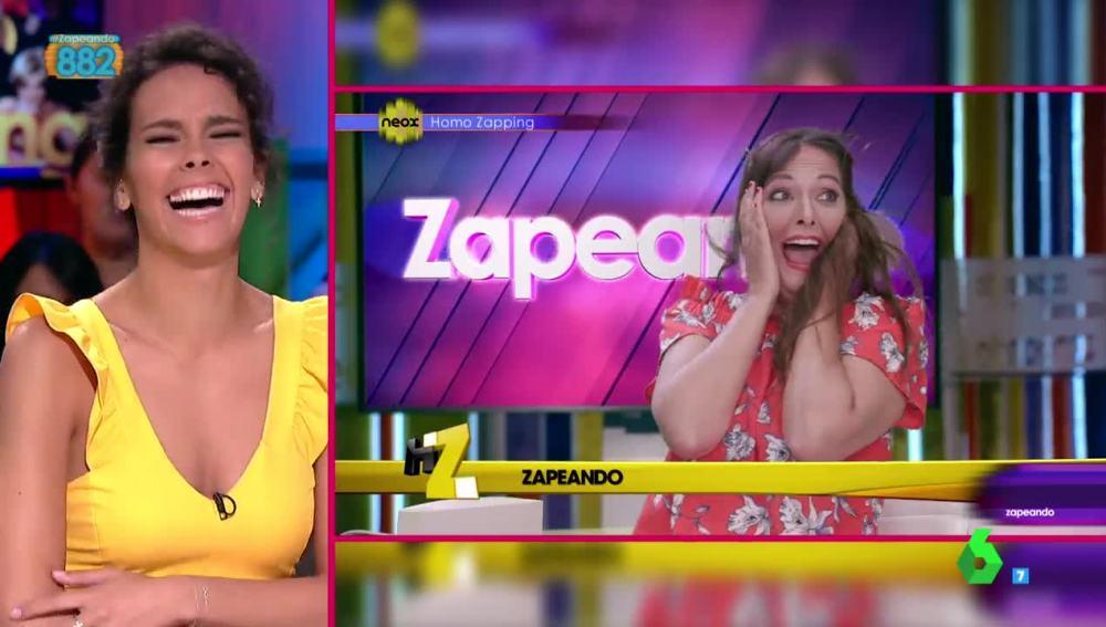 Cristina Pedroche valora su imitación en Homo Zapping