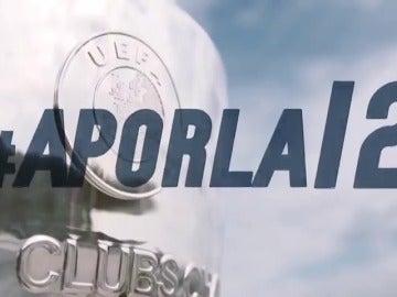 Frame 44.294022 de: La conjura del Real Madrid en redes sociales: 'Otra oportunidad para hacer historia #APorLa12'