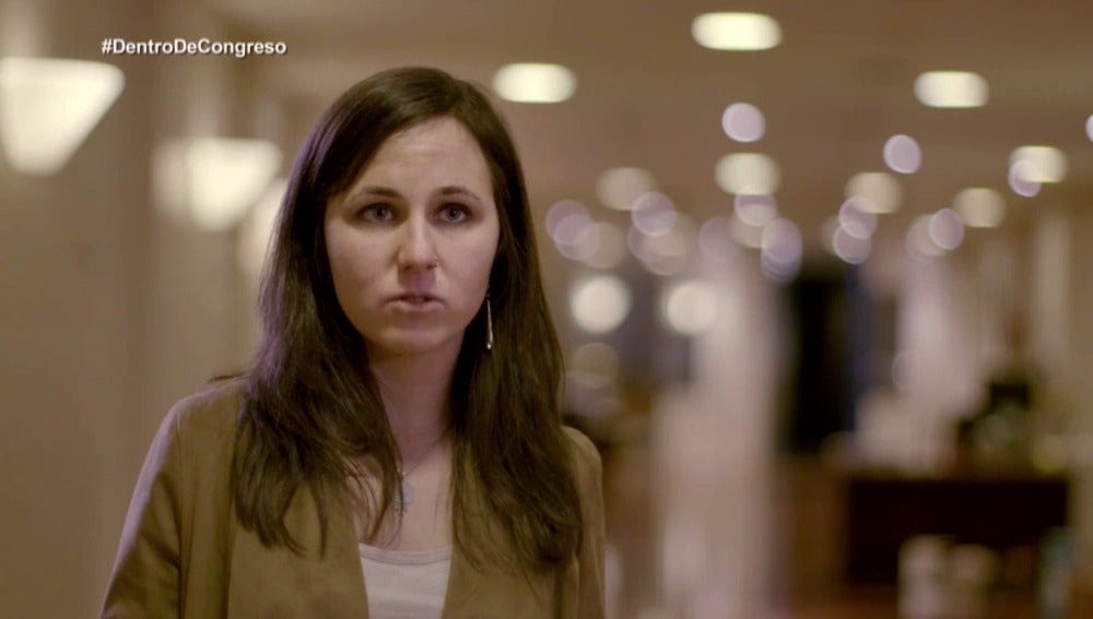 Ione Belarra, diputada de Podemos por Navarra