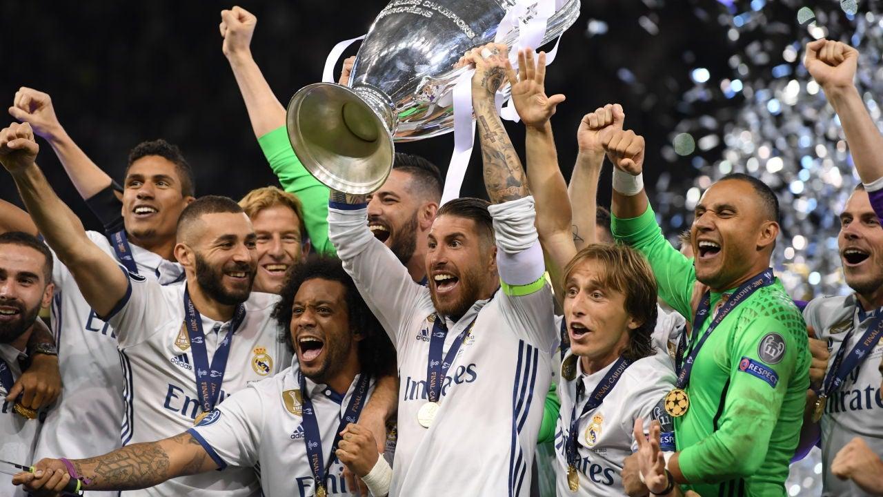Sergio Ramos alza al cielo de Cardiff la Duodécima Champions del Real Madrid