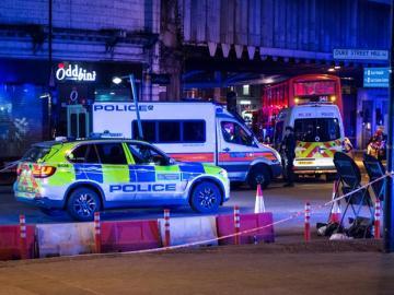 La policía acordona la zona de ataque en Londres