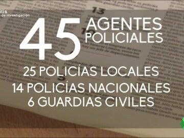 Frame 70.403798 de: Policías, bomberos, enfermeros y otros puestos que ocupan los clientes de Manuel Cid, el falsificador de títulos y diplomas