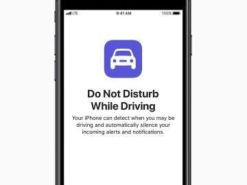 Modo 'No molestar mientras conduce' de iOS 11