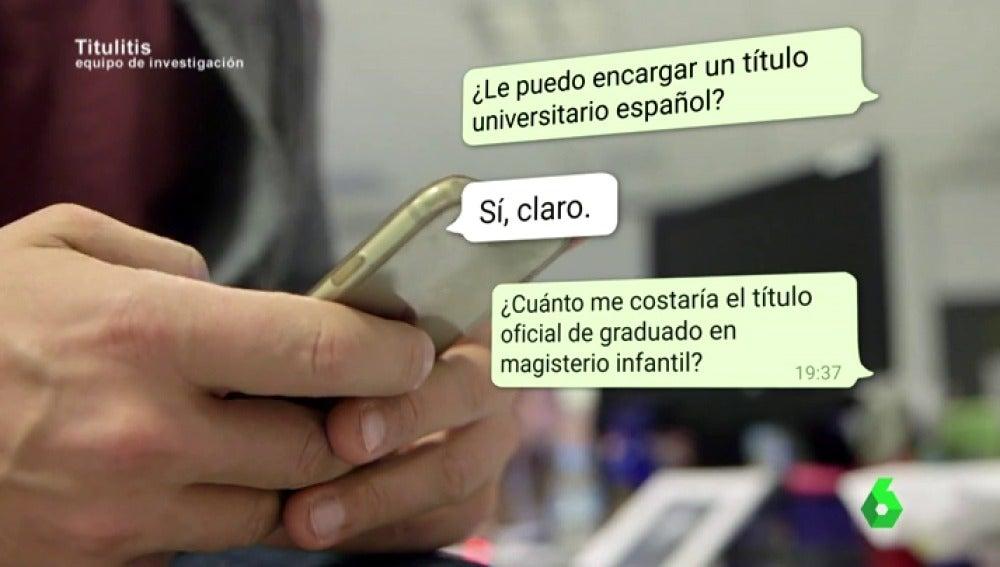 LA SEXTA TV | Obtener un título universitario en una semana y por ...