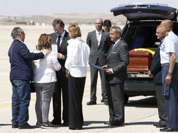 Llega a España el cuerpo de Ignacio Echeverría