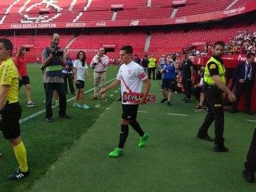 Cotán, capitán del Sevilla Atlético