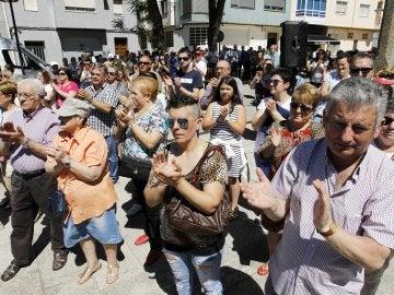 Homenaje a Ignacio Echeverria en el municipio coruñés de As Pontes