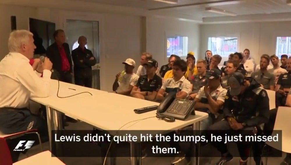Frame 33.47043 de: VÍDEO: Asistimos a una reunión de pilotos de Fórmula 1 por primera vez en 20 años