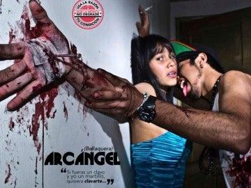 Imágenes de la campaña contra las letras sexistas de reggaetón