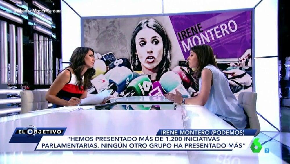 Irene Montero y Ana Pastor