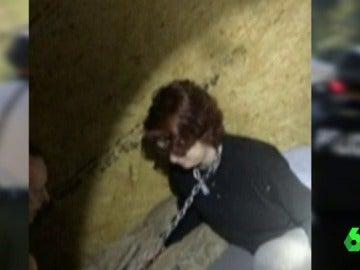 Kala Brown, en el momento de su liberación