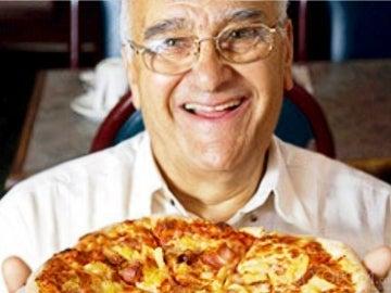 Muere a los 83 años el creador de la pizza hawaiana