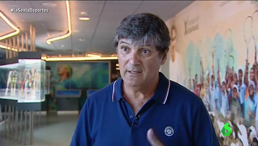 Toni Nadal, entrenador de Rafa Nadal