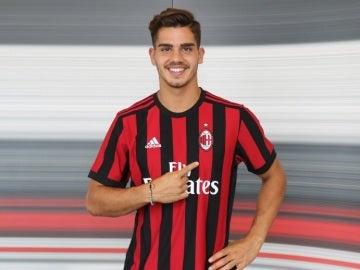 André Silva, nuevo jugador del AC Milan