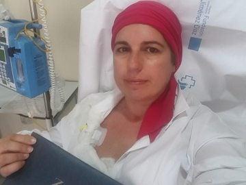 Inma Escriche, enferma de cáncer