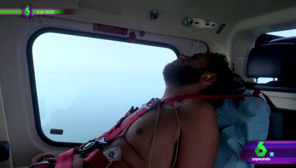 Juan abandona La Isla