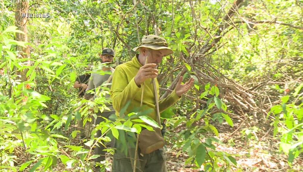 Daniel y Rafael en La Isla